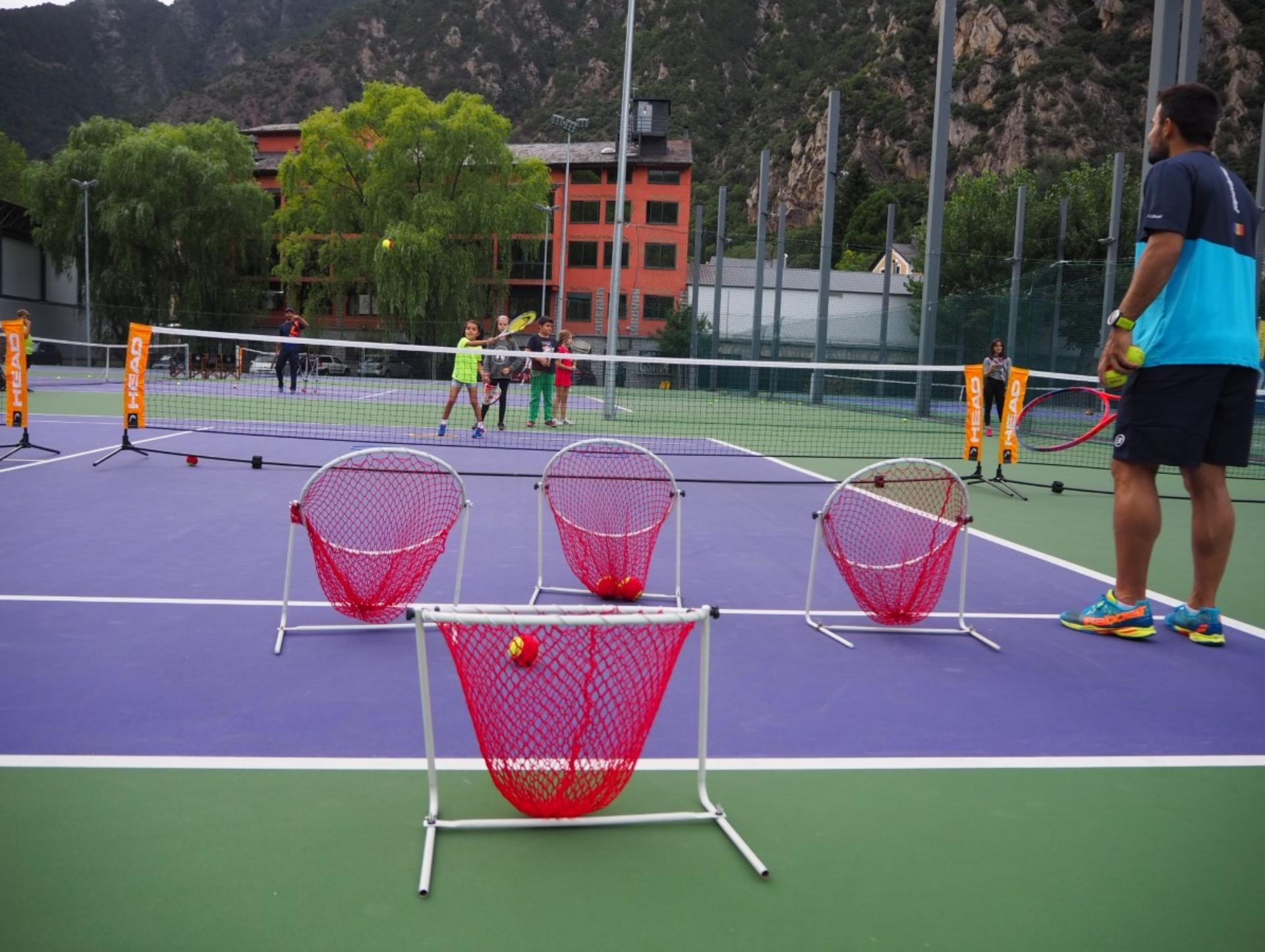 Escoles de tennis i pàdel