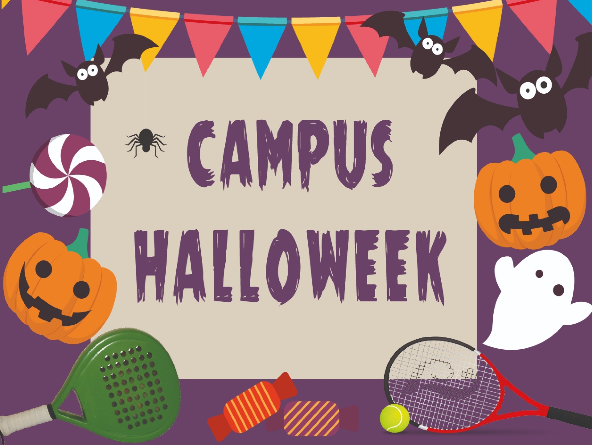 Vine al Campus Halloweek de Princiesport